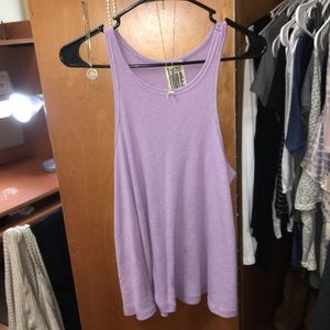 ♡ Free People Lilac/Lavender Swing Top ♡